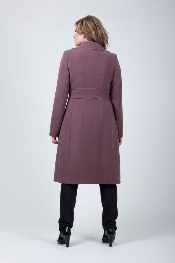 elegancki długi płaszcz damski